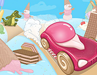 Ice Cream Racing Game